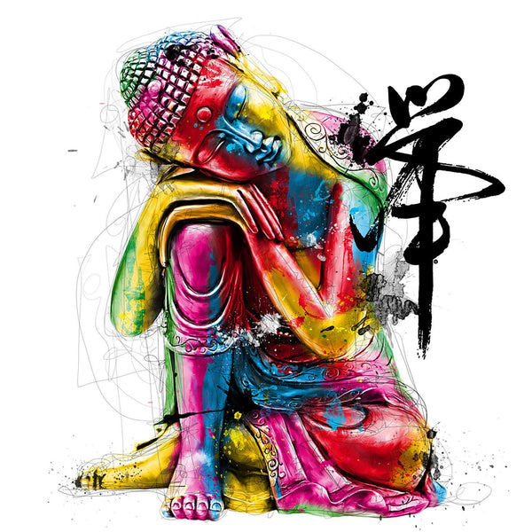 Colorful Buddha Statues Diy Paint By Numbers Kits UK VM54617