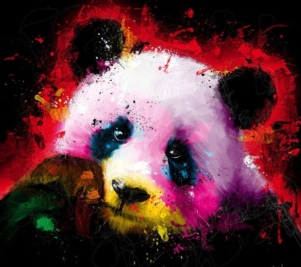 Panda Diy Paint By Numbers Kits UK VM30062