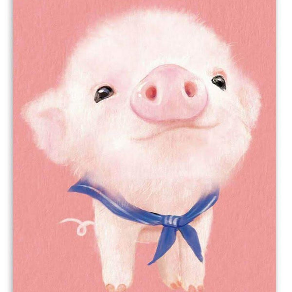 Pig Diy Paint By Numbers Kits UK VM30226-ZXQ3090