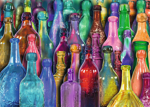 Color Bottle Diy Paint By Numbers Kits Uk VM90147