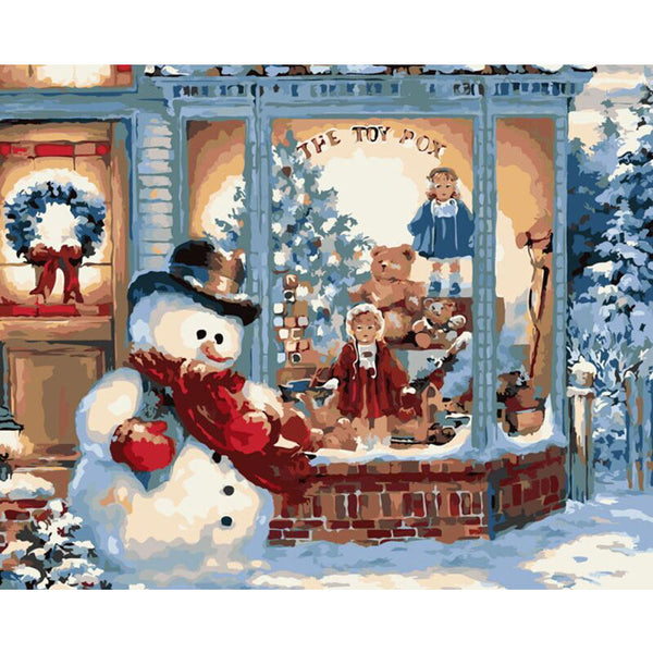 Christmas Diy Paint By Numbers Kits UK VM94660