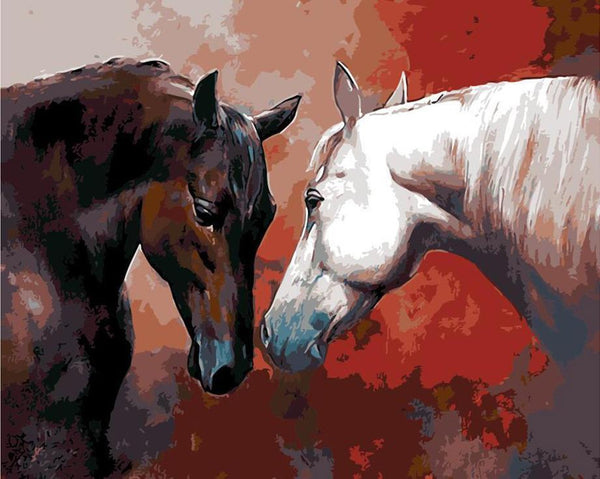 Horse Diy Paint By Numbers Kits UK BN96104