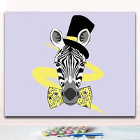 Art Zebra Diy Paint By Numbers Kits Uk PBN59231