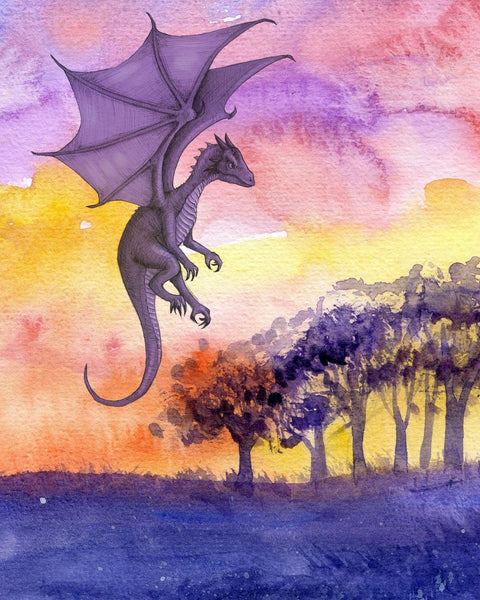 Dragon Diy Paint By Numbers Kits Uk PBN55403