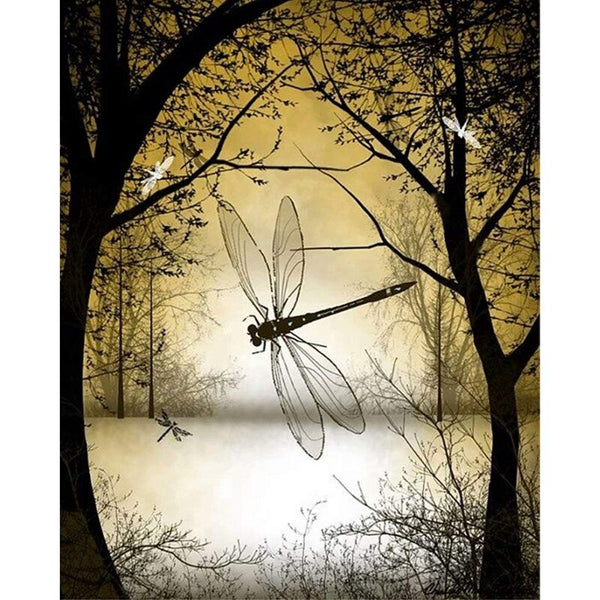 Dragonfly  Diy Paint By Numbers Kits UK VM30240