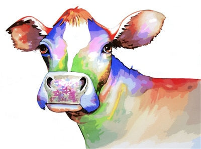 Cow Diy Paint By Numbers Kits UK PBN97297