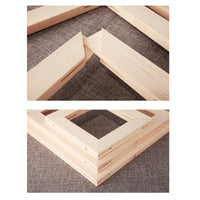 Frame Wooden Combination Diy Paint By Numbers Uk VM90293