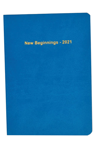 EJRange 2021 Diary A6 Page A Day for Appointments, Planner, Journal, Address Book