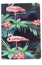 Load image into Gallery viewer, EJRange 2021 Diary A6 Day a Page Full Page Sat/Sun Daily Planner Journal - Flamingo