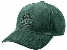 Load image into Gallery viewer, Timberland Mens Baseball Cap Corduroy One Size Green, Blue and Sable