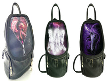 Load image into Gallery viewer, Peeping Dragon,Black magic,Cosmic Unicorns Backpack