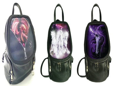 Peeping Dragon,Black magic,Cosmic Unicorns Backpack