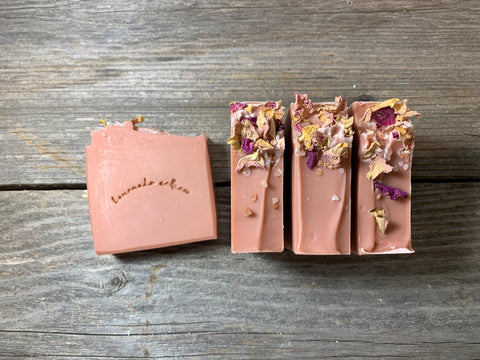 BE MINE - A Lovely Floral Artisan Soap
