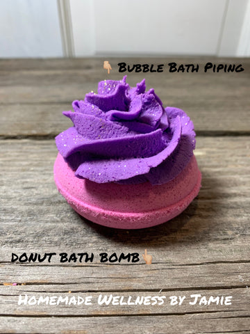 FANCY LIL' DONUT BATH BOMB/BUBBLE BATH