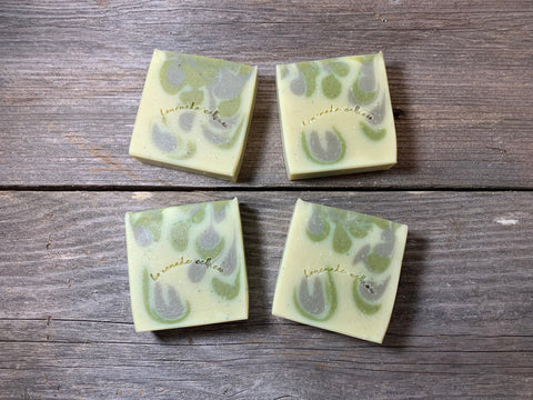 THE STEF  - A Fresh Avocado &  Spearmint Artisan Soap