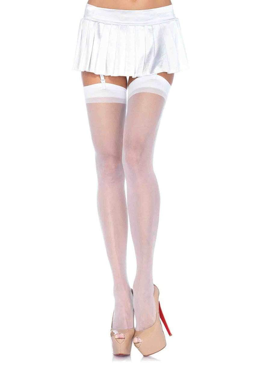 Sheer Thigh High Stockings