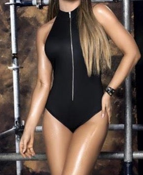 Mapale Wet Look Bodysuit