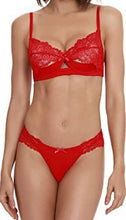 Load image into Gallery viewer, Dreamgirl Lace Shelf Bra W/ Lace Bottoms