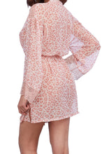 Load image into Gallery viewer, Dreamgirl Pink Leopard Print Robe