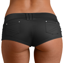 Load image into Gallery viewer, Lycra Pocket Booty Shorts
