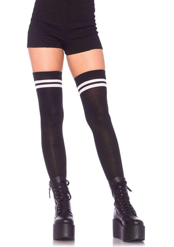 Ribbed Athletic Thigh Highs 7 Colors!!!!