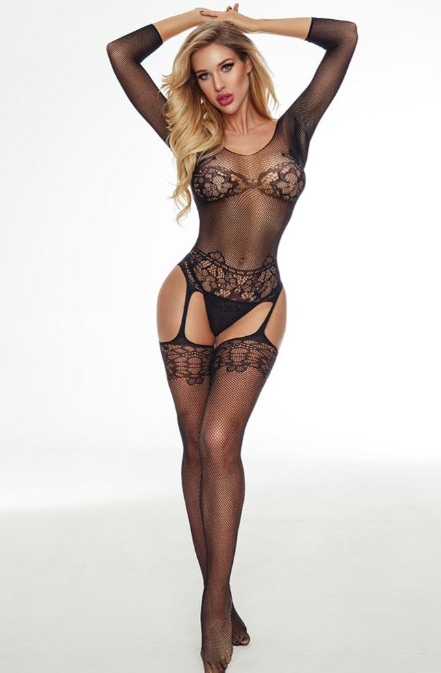 Lace Garter Bodystocking
