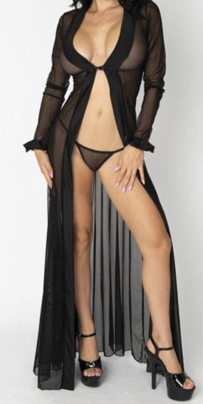 Beautiful Mesh Robes, Multiple colors!