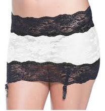 Load image into Gallery viewer, Stretch Lace Garter Skirt