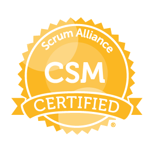 Certified ScrumMaster (CSM) <br>Oct 5 – 6 <br>$899.00 Early Bird Discount until 9/28/2020