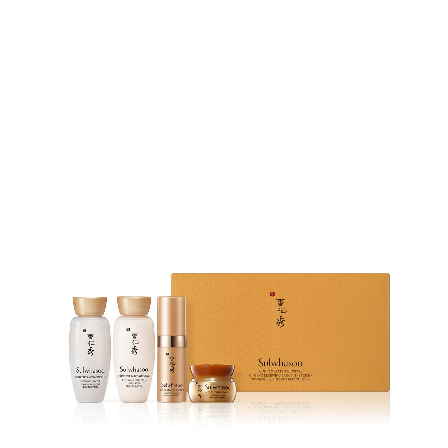 Concentrated Ginseng Renewing 4-Piece Set