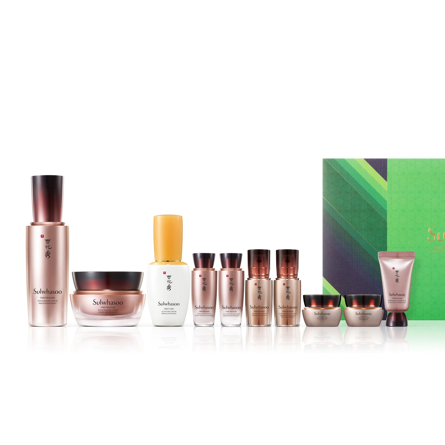 Timetreasure Anti-aging Deluxe Set