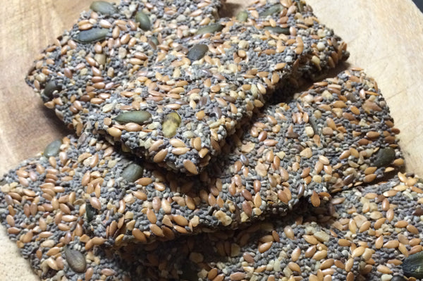 Chia Seed Cracker Recipe - Gluten Free