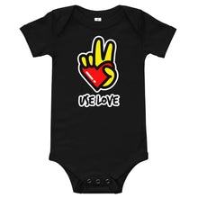 Load image into Gallery viewer, Infant Use Love body suit