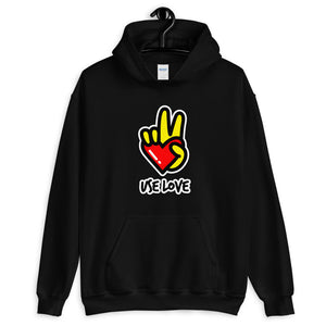 Black Use Love Hoodie