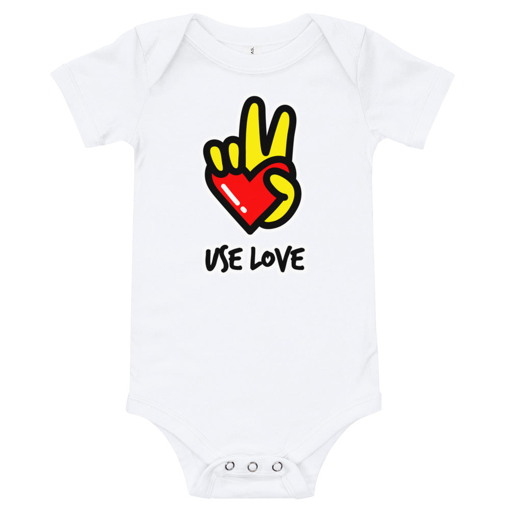 Infant Use Love body suit