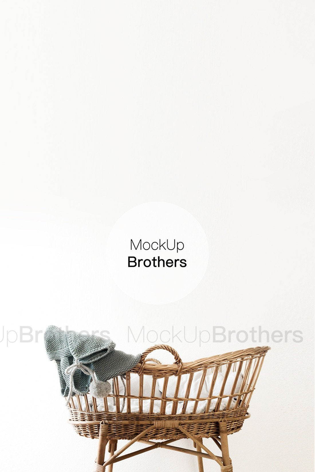 Nursery room mockup by Mock Up Brothers
