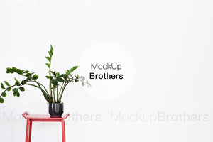 Wall art mockup by Mock up brothers