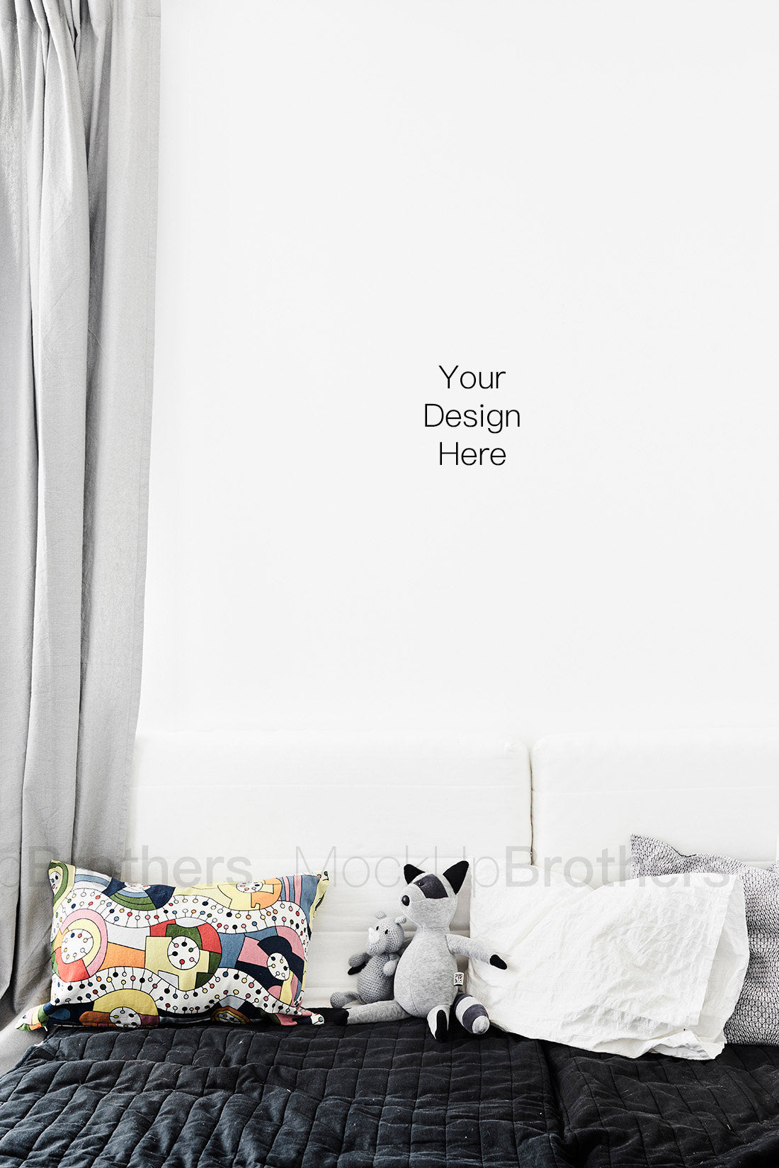 Kids room stock photography by Mock up Brothers