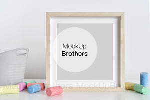 Square frame mockup by Mock Up Brothers