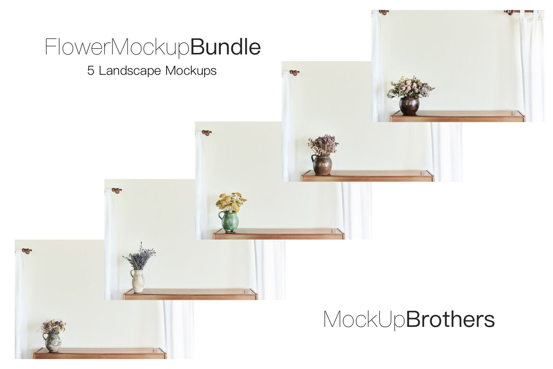 Interior Living Room Mockup Bundle 5