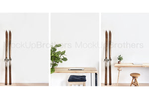 Wall art mock ups in bundle