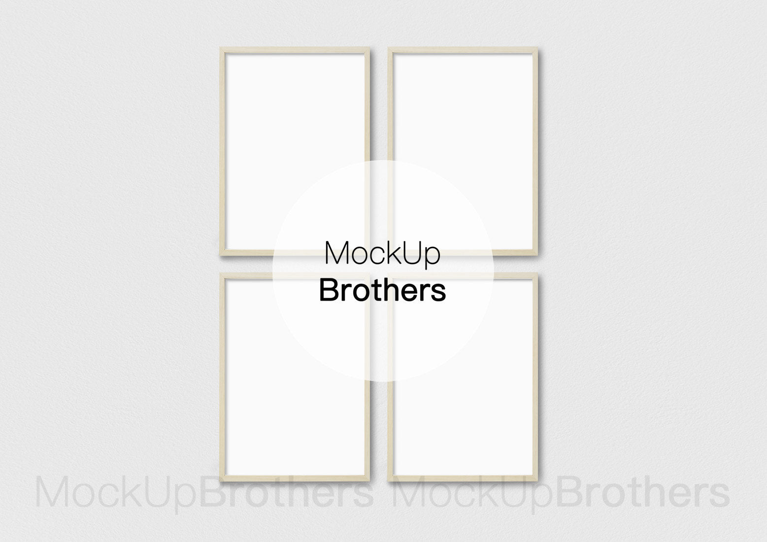Wall Frame Mockup Brightwood P42_3