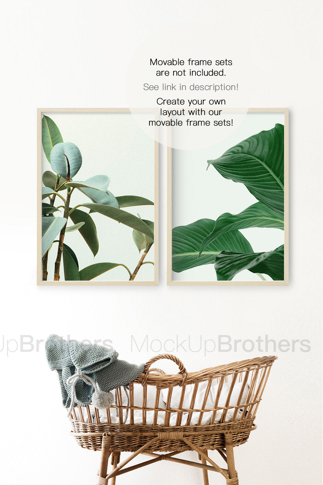Mockup frame in kids room by Mockup brothers
