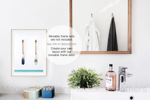 Bathroom styled stock photography