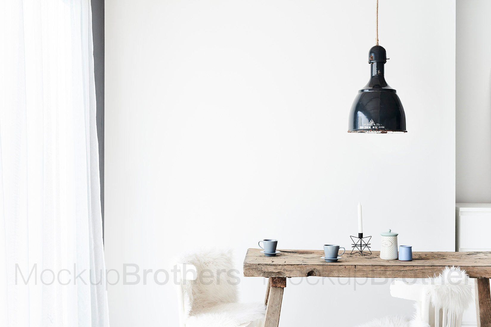 Farmhouse interior stock photo by Mockup brothers