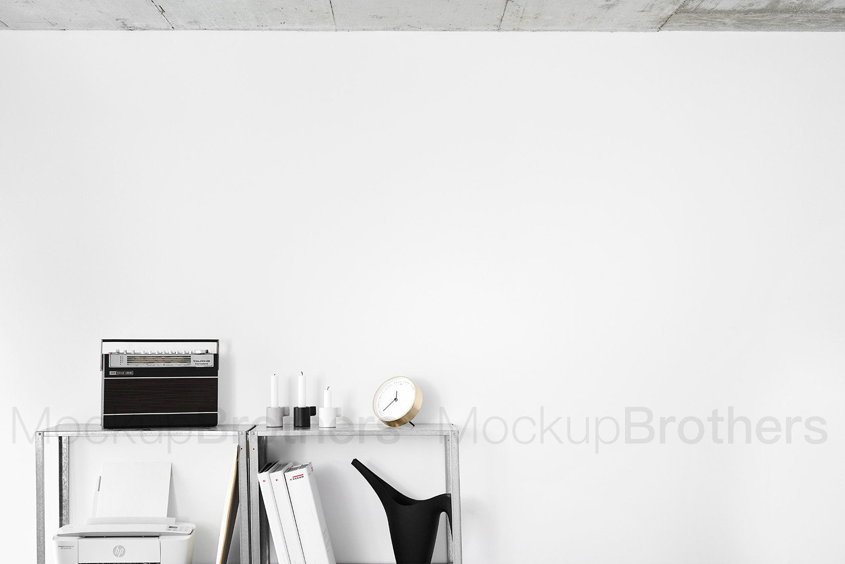 wall art mockup for paintings and posters by Mock up Brothers