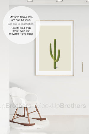 Frame mock up for prints by mockup brothers