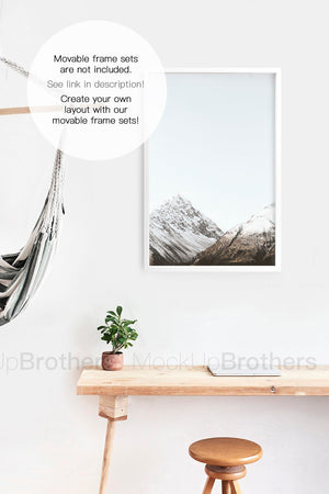 Frame mockup wall by mock up brothers