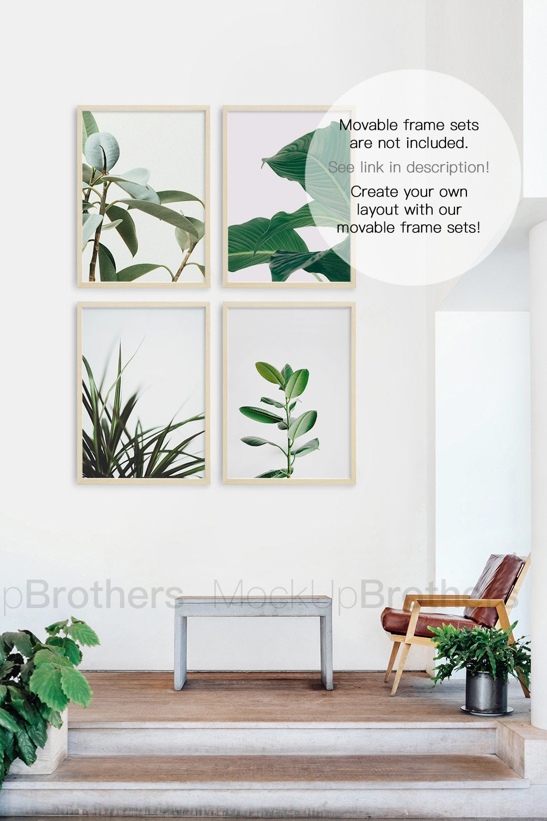 Wall art mockup by MockupBrothers