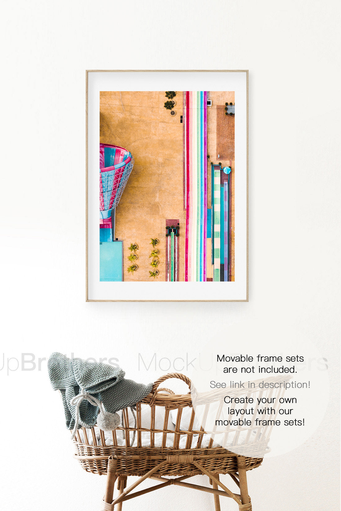 Nursery frame mock up by Mockup Brothers